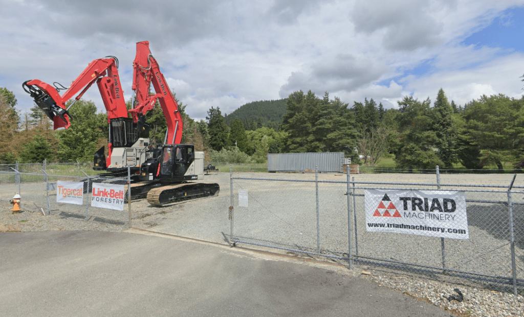 Heavy Machinery at Mt. Vernon Triad Machinery branch