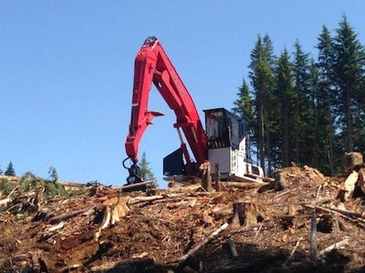 Triad Machinery Logging Equipment