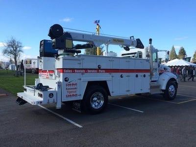 Triad Machinery Service Truck